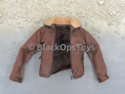 1/6 Scale Rick Grimes The Walking Dead Official Weathered Brown Jacket