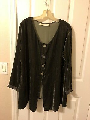 Vintage Jane Mohr Dress To Kill Velvet Top OS