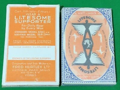 TAX WRAPPED Vintage * LITESOME SUPPORTER * Playing Cards SPORT + WORK JOCKSTRAP