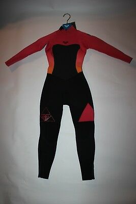 Roxy Syncro 3 2mm Back Zip GIRLS Full Wetsuit ERGW103003 PARADISE PINK  ankle zip a14ddf32a