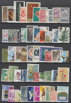 World Selection Of 150 Different Used Stamps (Jm054)