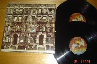 Led Zeppelin - Physical Graffiti - 1975 Swan Song Dbl LP - EX