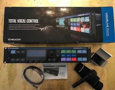 Total Vocal Control TC Helicon Voicelive Rack - Neuwertig