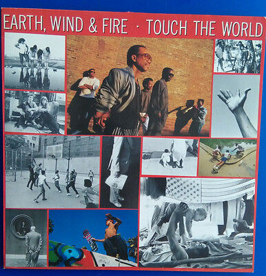 Earth, Wind & Fire: Touch the world, LP, 1987
