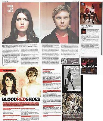 BLOOD RED SHOES : CUTTINGS COLLECTION -interviews-