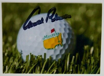 Arnold Palmer Masters Photograph Picture Jsa Certified Autograph Signed Augusta