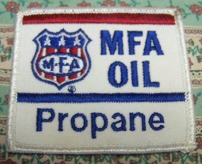 Mfa Oil Propane Embroidered Hat Uniform Patch Farming Agriculture Gas Oil