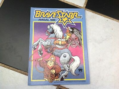 VINTAGE ORIGINAL BRAVESTARR TV SHOW CARTOON ANNUAL BOOK 1986 Marshal Deputy Fuzz
