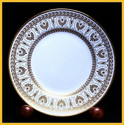 Crown Staffordshire Gold Victoria 6 1/4 Inch Tea Plates - 1st Quality New Unused