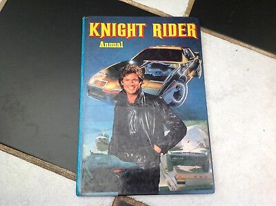 Vintage Original Knight Rider Tv Show Annual Book 1982 Kitt Michael Knight 2000