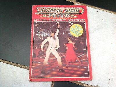 Vintage Original Saturday Night Fever Movie Film Scrap Book 1978 Tony Manero Etc