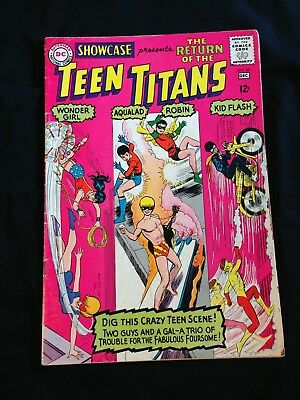 Showcase, #59, Dec. 1966, 3rd Appearance Of the Teen Titans