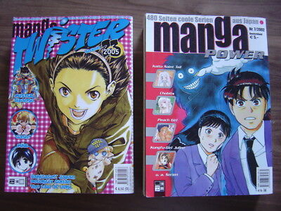 Manga Twister 23/2005 & Manga Power /2002  2Stück
