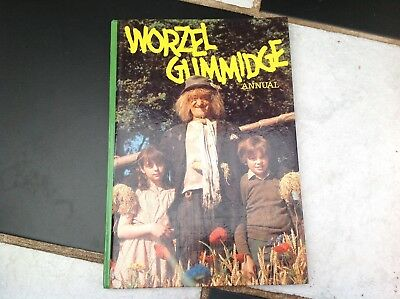 Vintage Original Worzel Gummidge Tv Show Annual Book 1982 Scarecrow Aunt Sally