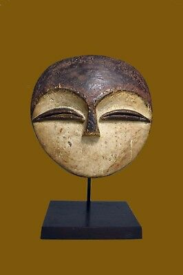 A Rare Old Kwele Ekuk Forest Spirit, African Mask ~ African Art