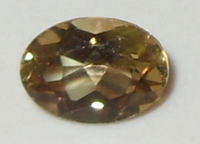 1ct Valuable Natural Tanzania Gold Chrysoberyl Oval 7x5mm