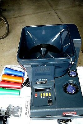 Scan Coin 313 Electric Coin Counter SC313  Counts 2700 coins per minute