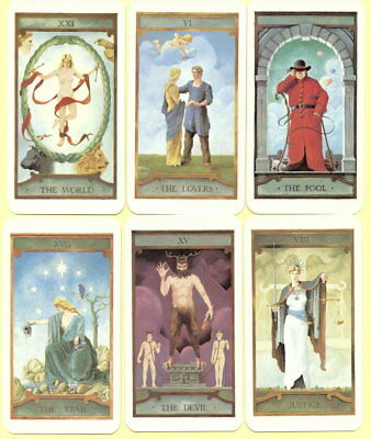 Spielkarten playing cards jeu de cartes Tarot Orakel Prediction Tarot 1985