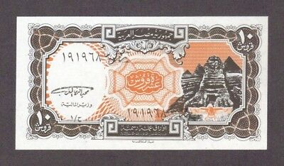 1997 10 Piastres Egypt Currency Gem Unc Banknote Note Money Bank Bill Cash Cu