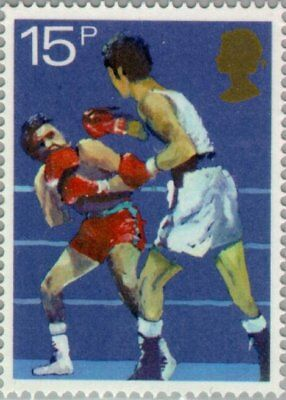 GREAT BRITAIN -1980- Sport Centenaries - Boxing - MNH Stamp - #926