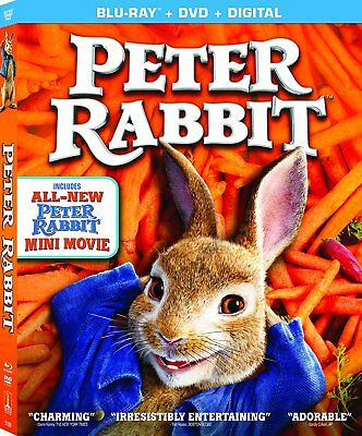 Peter Rabbit (Blu-ray Disc ONLY, 2018)