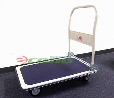660 Lbs Capacity Foldable Folding Platform Hand Truck Moving Handling Dolly