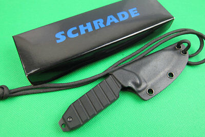 Schrade Small Full Tang Survival Fixed Blade Knife Neck Knife EDC Gifts Knife