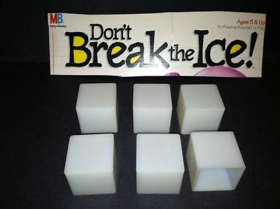 Don/'t Break the Ice Board Game 10 Replacement Ice Cubes Blocks Pieces Parts