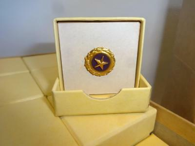 Original Us Wwii Mother's Gold Star Son Killed In Action Kia Pinback Brooch Pin