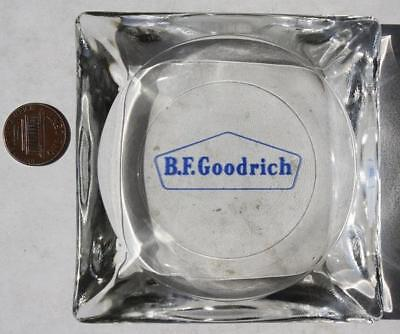 1960-70s Era B.F.Goodrich Tire company glass ashtray-VINTAGE COOL!