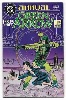 Green Arrow Annual 1 Mature Readers Fables Part 2