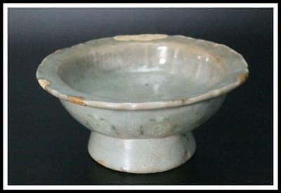 RVCP24 Antique Korean Inlay celadon bowl  Goryeo Dynasty