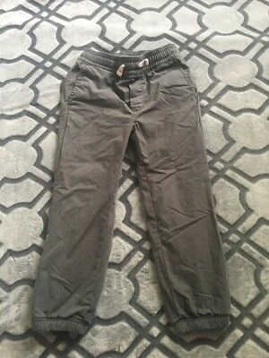 Hanna Anderson Grey Boys Pants. Size 110