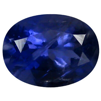 1.03 ct AAA Charming Oval Shape (8 x 6 mm) Blue Iolite Natural Gemstone