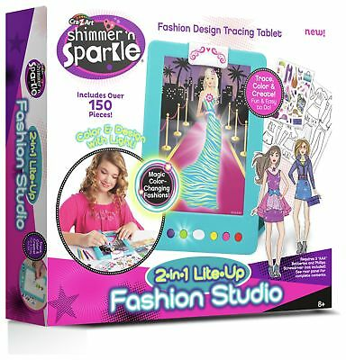 Shimmer 'N' Sparkle 2-in-1 Lite Up Fashion Studio 8+ Years