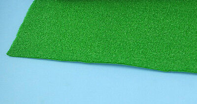 Self Adhesive Sheet of Faux Green Grass for Dollhouses and Scale Models #WCAC36
