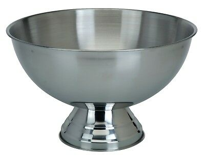Stainless Steel Party Punch Bowl Champagne Wine Beer Cool Ice Bowl