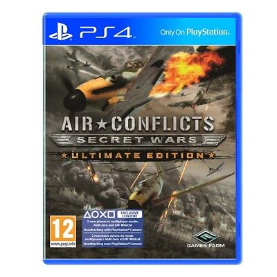 Air Conflicts Secret Wars Ultimate Edition PS4 Game