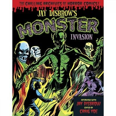 Jay Disbrow's Monster Invasion Hardcover