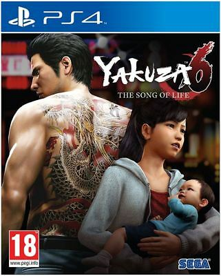 Yakuza 6 The Song Of Life Essence Of Art Edition PS4 Game