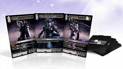 Final Fantasy TCG Dissidia NT Promo Foil Cards (3pk) Sealed