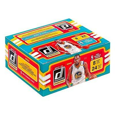 Donruss 2017/18 NBA Basketball Trading Cards (24 Packs)