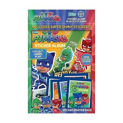 PJ Masks Sticker Collection Starter Pack