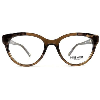 daca74f5d0 New NINE WEST Optical Eyeglasses RX Frame NW 5127 211 Brown Leopard 48-17-