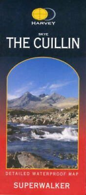 Skye the Cuillin XT25 9781851374076 (Sheet map, folded, 2005)