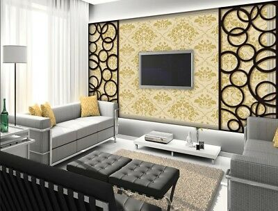 A27 Custom Made European TV Background Bedroom LIving Room Mural Wallpaper Q