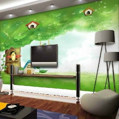 A221 Custom Made European TV Background Bedroom LIving Room Mural Wallpaper Q