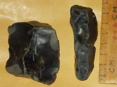 Mesolithic /neolithic Flint Cutter /scraper And Pointed Fabricator