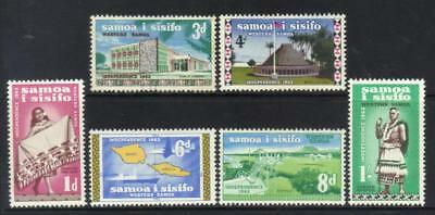 Samoa 1965 Defins Mh Set Of 6 Cat £29+