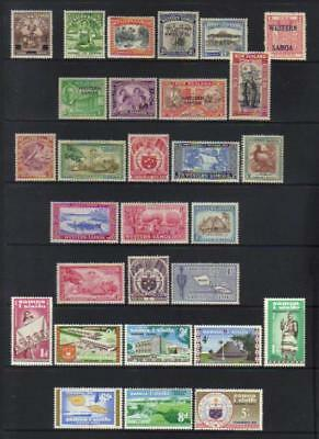 Samoa 1940-1962 Mh Selection Incl Sets Cat £50+